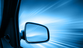 Car Speeding Royalty Free Stock Image