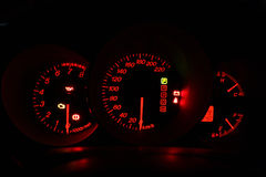Car speedmeter Stock Photography