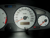 Car speedmeter Royalty Free Stock Photo