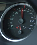 Car speedometer Stock Images