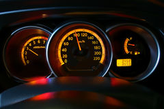 Car Speedometer Royalty Free Stock Images