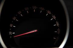 Car speedometer. Royalty Free Stock Photos