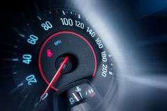 Car Speedometer Stock Photos