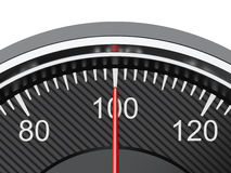 Car speedometer Stock Image