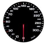 Car speedometer Stock Images