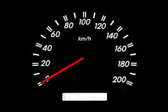 Car speedometer Royalty Free Stock Photo