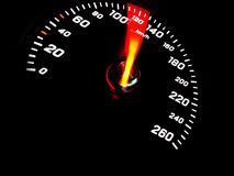 Car Speedometer Royalty Free Stock Photos