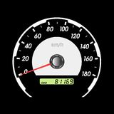 Car speedometers for racing design. Stock Photo
