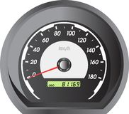 Car speedometers for racing design. Royalty Free Stock Photo