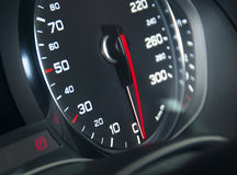 Car speedometr dashboard Royalty Free Stock Photos