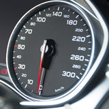 Car speedometr dashboard Stock Images
