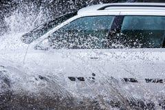 Car splash Stock Photos