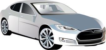 Car2 sport folujący _vector1 Zdjęcie Stock
