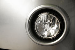Car spot light. Crop for detail clearing Royalty Free Stock Photo