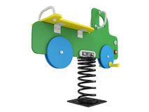 Car spring toy Royalty Free Stock Image