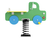 Car spring toy Royalty Free Stock Images