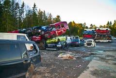 Car stack. Stock Image