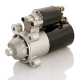 Car starter. Automotive starter motor and selenoid Stock Photography