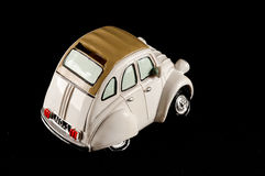 Car Statuette. Picture of an Old Classic Car Statuette royalty free stock image