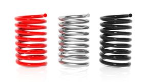 Car steel spring Royalty Free Stock Photo