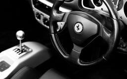 Car, Steering Part, Steering Wheel, Black royalty free stock photos
