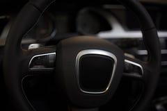 Car steering wheel Royalty Free Stock Photos