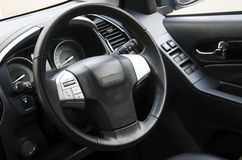 Car steering wheel Royalty Free Stock Photography