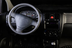 Car steering wheel Royalty Free Stock Image