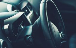 Car Steering Wheel Royalty Free Stock Images