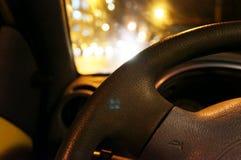 Car steering wheel Royalty Free Stock Photo