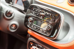 Car Stereo Audio System Royalty Free Stock Image