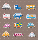 Car stickers Royalty Free Stock Photography