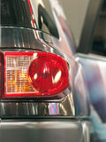 Car stop light. Modern car red stop light Royalty Free Stock Image