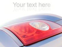 Car stop-light. Picture of a Car stop-light Royalty Free Stock Photos