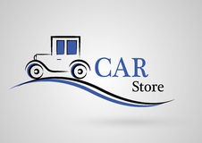 Car store Royalty Free Stock Photography