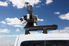 Car Street View Camera System Royalty Free Stock Photo