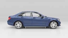 Car in studio Royalty Free Stock Images