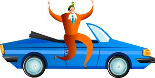Car success Royalty Free Stock Images