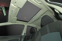 Car sunroof Stock Images