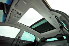 Car sunroof Royalty Free Stock Photography