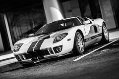 Car, Supercar, Gt, Ford, Speed Royalty Free Stock Photography