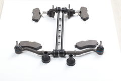 Car suspension parts new detail kit set Stock Photography