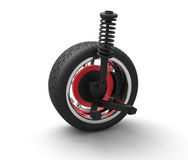 Car suspension Royalty Free Stock Photos