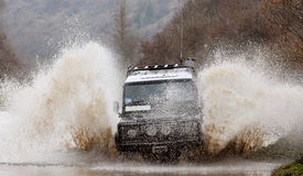 Car SUV or cross-country vehicle Stock Photos