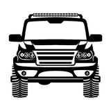 Car 4x4 suv logo Vector Illustration. Car suv 4x4 logo Vector Illustration esp10 royalty free illustration