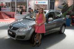 Car Suzuki SX4 Stock Photography