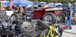 Car Swap Meet. royalty free stock photography