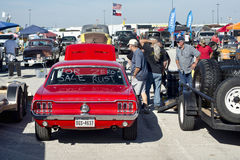 Car Swap Meet. royalty free stock image