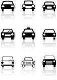 Car symbol vector set. Stock Photography