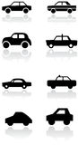 Car symbol vector set. Stock Photos